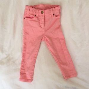 NWOT J Crew Coral Jeggings Stretchy